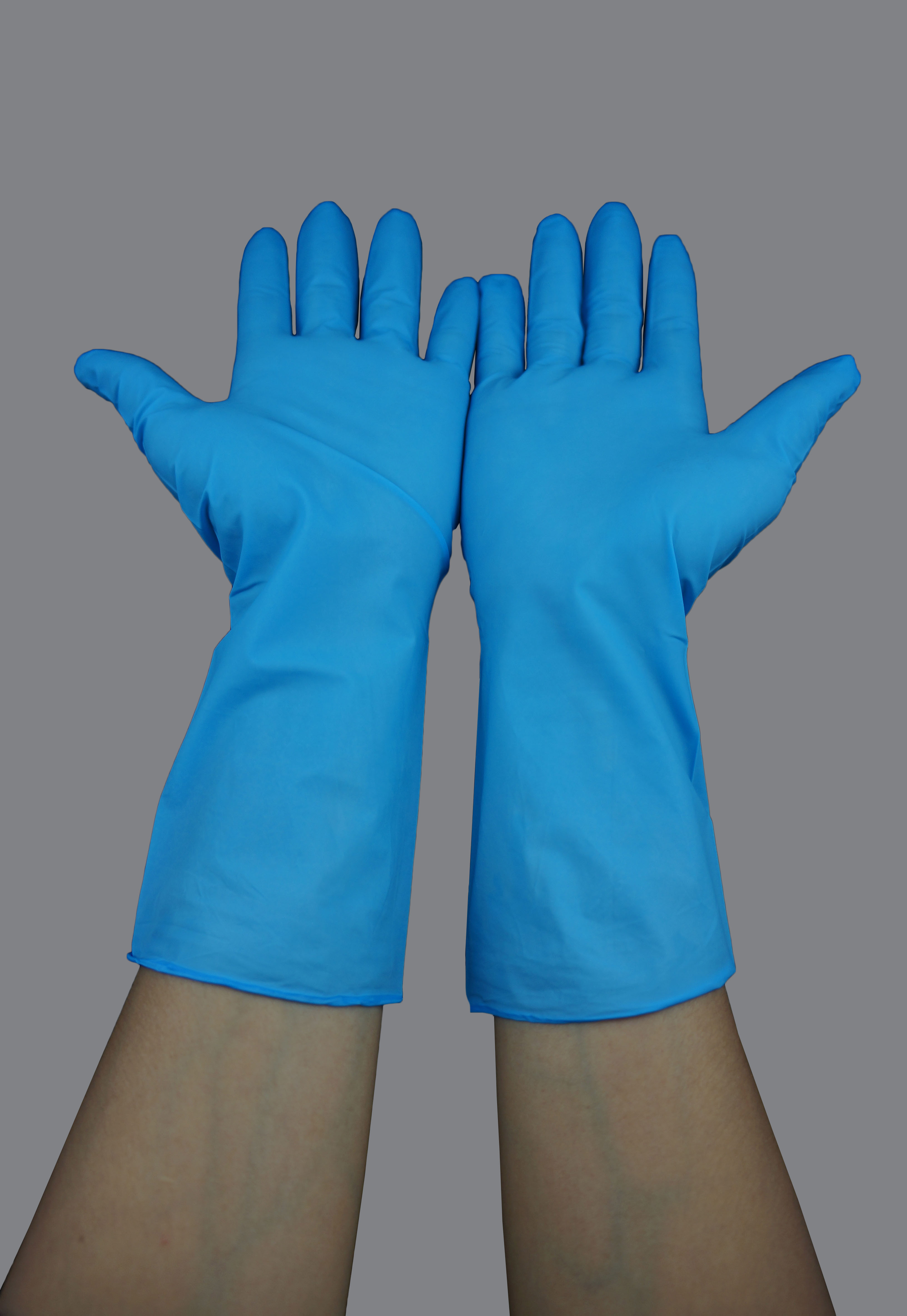 Powder Free Cleanroom Nitrile Gloves Cleanroom Gloves